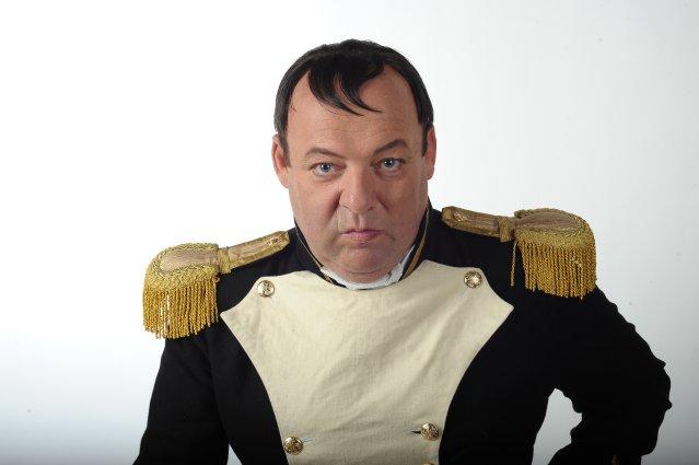 А.Пашковский в гриме Наполеона